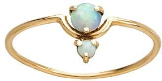 WWAKE Nestled Opal Ring