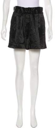 Marc Jacobs Satin Mini Shorts