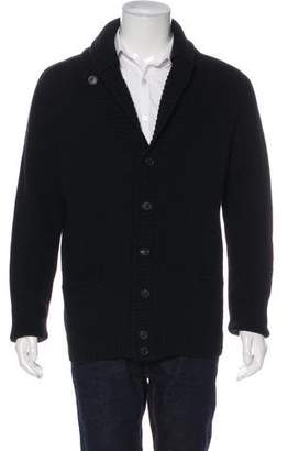 Hardy Amies Wool Cardigan Sweater
