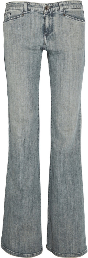 Theyskens' Theory Peps low-rise flared jeans