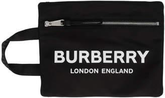 Burberry Black Handle Pouch