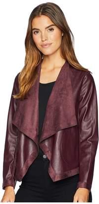 BB Dakota Teagan Reversible Vegan Leather Jacket Women's Coat