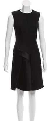 J. Mendel Silk-Blend Mini Dress
