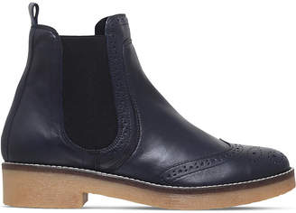 Carvela Ladies Navy Casual Leather Slowest Boots