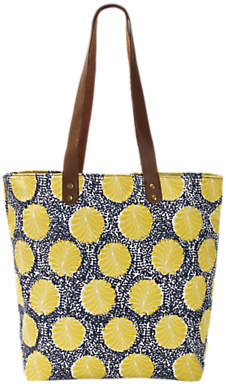 White Stuff Ginny Canvas Tote Bag, Brooklyn Blue