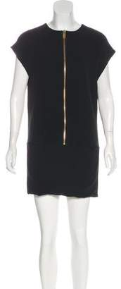 Celine Zip-Up Sheath Dress