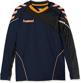 Hummel (ヒュンメル) - [ヒュンメル] サッカー ジュニア長袖プラクティスシャツ HJP7111 [ボーイズ] ネイビー (70) 日本 150 (日本サイズ150 相当)