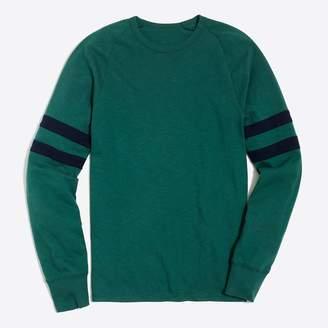 J.Crew Slim double-striped football T-shirt