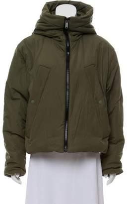 Proenza Schouler Hooded Cropped Jacket