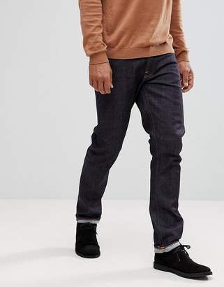 Nudie Jeans Dude Dan Straight Fit Jean Dry Comfort Dark