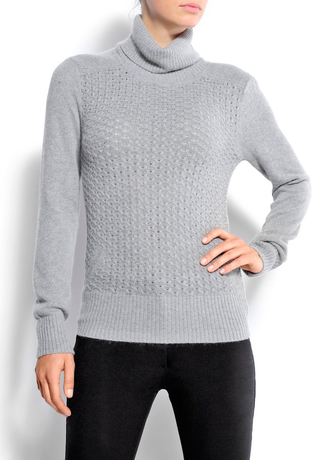 MANGO Openwork knitted sweater