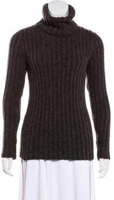 Fendi Rib Knit Turtleneck Sweater