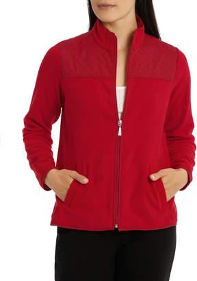 Regatta Quilted Panel Polar Fleece Long Sleeve Jacket