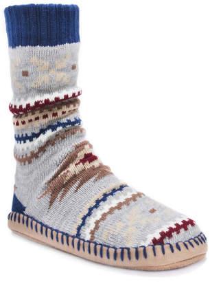 Muk Luks Men Slipper Socks