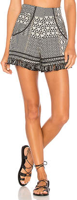 ale by alessandra Daniela Shorts in Black & White $148 thestylecure.com