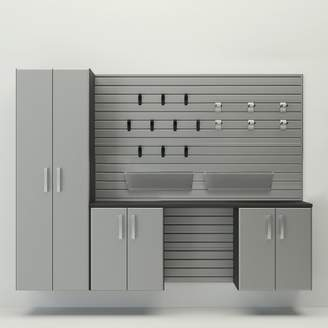 Flow Wall Deluxe Storage Cabinet Set