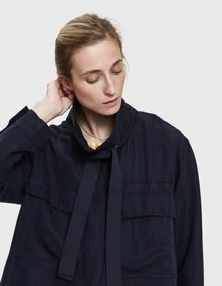 Farrow Franca Linen Cargo Jacket