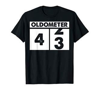 Oldometer 42 coming over 43 years old Tshirt Birthday Gifts