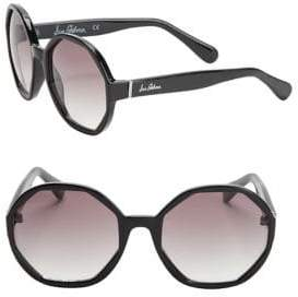 Sam Edelman 57MM Hexagon Sunglasses