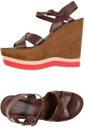 KORK-EASE Sandals $166 thestylecure.com