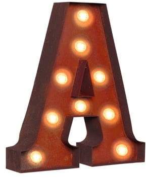 LIFESTYLE BRANDS Vintage Retro Lights and Signs Letter