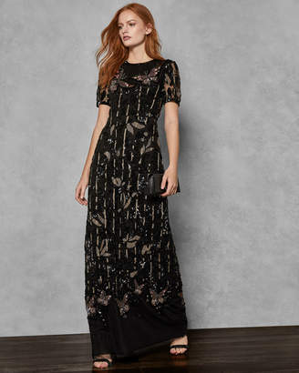 Ted Baker MELIZA Embellished maxi dress