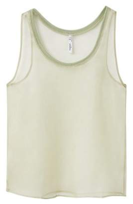 MANGO PREMIUM - Strap silk top