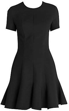 Stella McCartney Women's Fit-&-Flare Mikado Short Dress