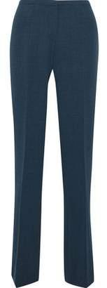 Elie Tahari Theora Twill Straight-Leg Pants