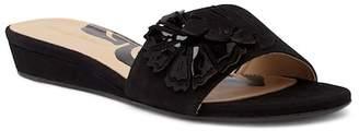 Tommy Bahama Catarina Floral Suede Slide Sandal