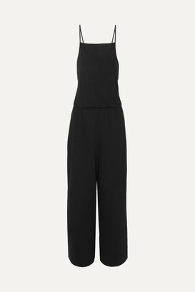 Ninety Percent Net Sustain Tencel Jumpsuit - Black