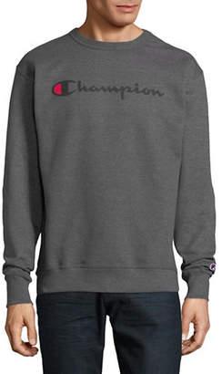 Champion Screen-Print Fleece Sweatshirt
