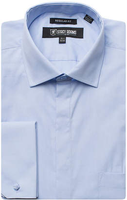 Stacy Adams Long Sleeve Woven Dress Shirt - Big