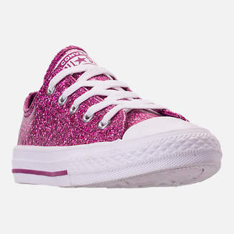 Converse Girls' Little Kids' Chuck Taylor Party Dress Low Casual Shoes