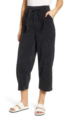 The Fifth Label Philosophy Belted Corduroy Crop Pants