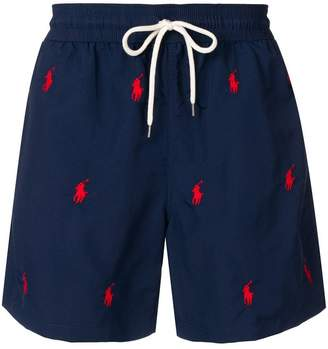 Polo Ralph Lauren logo swimming trunks