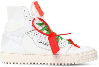 Off-White 20mm Low 3.0 Leather & Canvas Sneakers