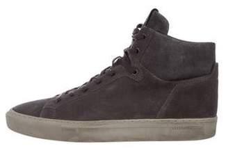 AllSaints Suede High-Top Sneakers