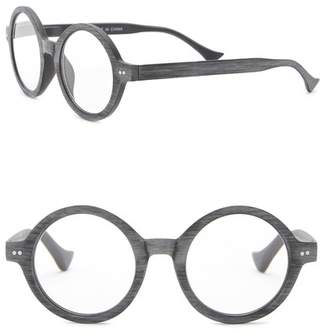 Ellen Tracy Vintage Round Woodlike Reading Glasses