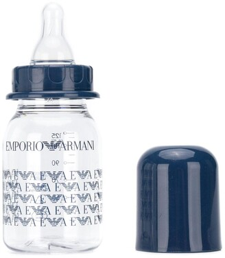 Emporio Armani Kids all-over logo bottle