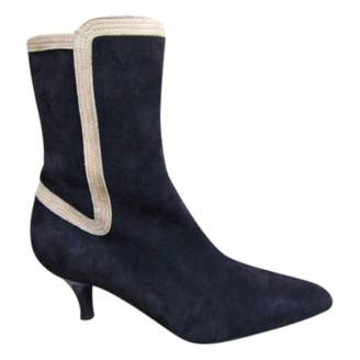Bally Brown Suede Ankle boots