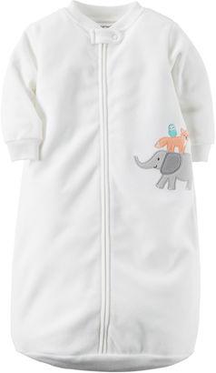 CARTERS Carter's Long-Sleeve Micro Sleepbag Sleepwear - Babies one size fits newborn-9m $18 thestylecure.com
