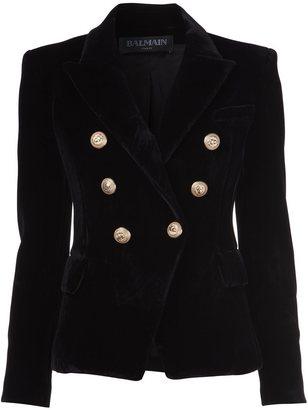 Balmain double breasted blazer $1,708 thestylecure.com