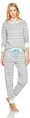 Mae Women's Sleepwear Vintage Thermal Loose Fit Pajama Set