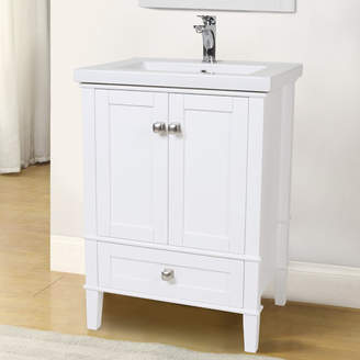 "Andover Mills Modena 24"" Single Bathroom Vanity Set Base"