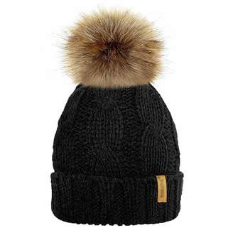 9954b560094 HiiWorld Fashion Women Chunky Soft Pompom Knitted Cap Winter Warm Crochet Beanie  Hat Detachable Ball Caps