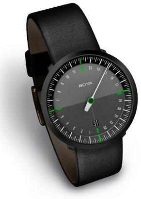 Botta-Design Uno 24 NeoブラックエディションMenÕs Watch by ゴムストラップ),228012be