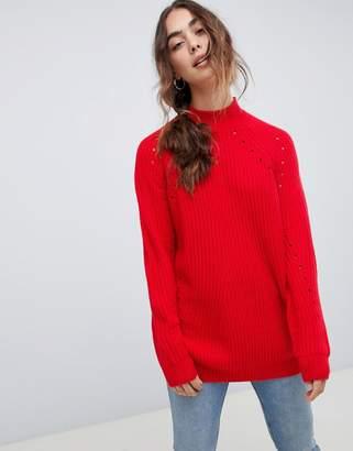Vero Moda knitted high neck sweater