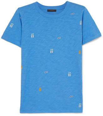 J.Crew Tossed Printed Slub Cotton-jersey T-shirt