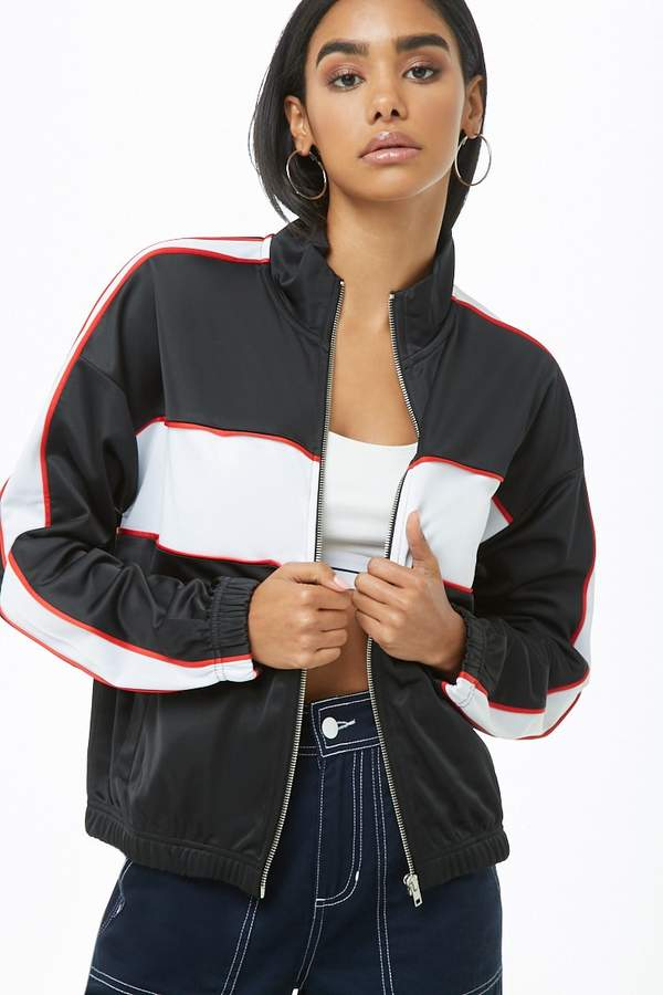 Forever 21 Colorblock Track Jacket